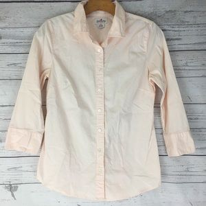 J. Crew Haberdashery pastel button down top